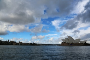 Sydney, I barely saw thee.